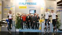 ITALPRESSE SpA, Italy The Booth of Italpresse with the Italpresse - Power Jumpers