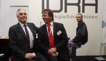 Idra, Italy Sig. Boni with Werner Höfner (right)