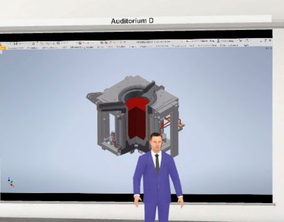 Virtual Classroom Session from ABP Induction with lectures by Lungmuß and Saveway