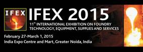 Meet the Indian Foundry Industry at IFEX 2015 & 63rd Indian Foundry Congress