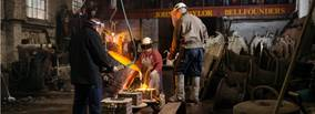 Loughborough Bellfoundry Trust receives funding from The National Lottery - to help address the impact of the Covid-19 pandemic on its bell museum