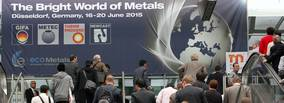 """Messe Düsseldorf Managing Director Joachim Schäfer: """"The Bright World of Metals"""" shines brighter than ever Trade visitors in spirits of investment The world meets in Düsseldorf ecoMetals Trails delight"""