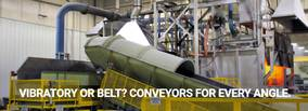 Vibratory or Belt? Conveyors for Every Angle
