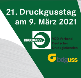 Call for Papers: 21. Druckgusstag