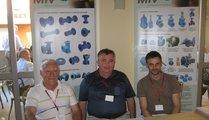 Meeting friends from foundry industry Milorad Vaselic (MIV), Josip Martiskovic (Ljevaonica & Duo Pesa) an Smilijan Hren (MIV)