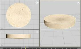 3D Visualization of Thermal Distortion in Disc-Shaped Chemically Bonded Sand Specimens