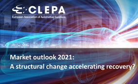 CLEPA Market outlook 2021: A structural change accelerating recovery?
