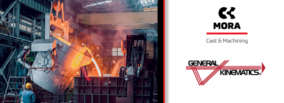 General Kinematics Designated as System Integrator for Fonderie Mora Gavardo, part of the Camozzi Group's New Foundry System