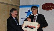Björn Wollin with Werner Stärk, BMW