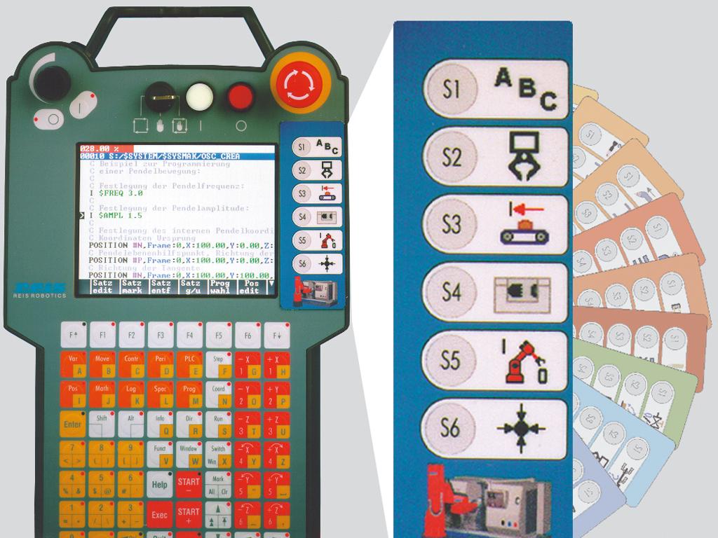Robot Controller With Teach Pendant Con Pt
